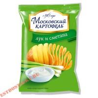 Картофель Московский с луком и сметаной 70г