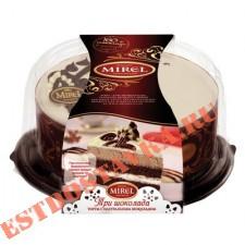 """Торт """"Mirel"""" Три Шоколада 900г"""
