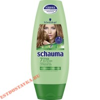 """Бальзам """"Schauma"""" для волос 7 трав 200мл"""
