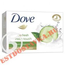 """Крем-мыло """"Dove"""" Прикосновение Свежести 100г"""