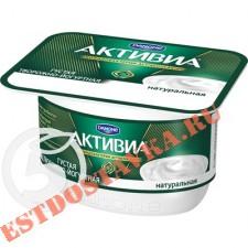"""Биопродукт """"Активиа"""" Творожная Натуральная 4.2% 130г"""