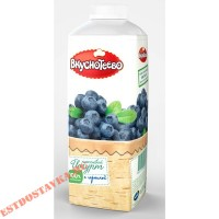 """Йогурт """"Вкуснотеево"""" 1,5% с черникой 750г"""
