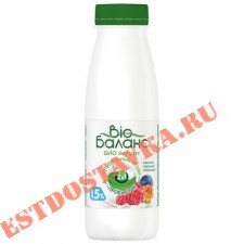 """Биойогурт """"Био Баланс"""" с малиной, черникой, клюквой, морошкой 1,5% 330г"""