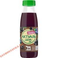 """Напиток """"Актуаль"""" сывороточный сок черной смородины, черной моркови, яблока и чернослива 0,1% 310г"""