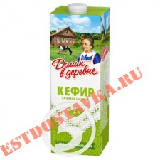 """Кефир """"Домик В Деревне"""" 1% 1л"""