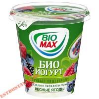 """Биойогурт """"Bio-Max"""" лесные ягоды 2.6% 290г"""