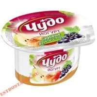 """Йогурт """"Чудо"""" Фрукты яблоко, груша, смородина 2,5% 125г"""
