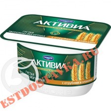 """Биопродукт """"Активиа"""" Творожная Отруби и злаки 4.2% 130г"""