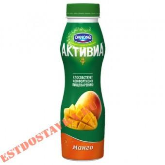 """Купить Биойогурт """"Активиа"""" обогащенный бифидобактериями ActiRegularis манго яблоко 2 290г"""