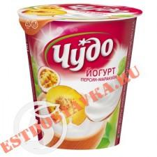 """Йогурт """"Чудо"""" персик-маракуйя 2,5% 290г"""