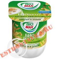 """Биойогурт """"Bio-Max"""" Отруби и злаки 2,6% 125г"""