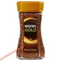 """Кофе """"Nescafe"""" Gold в стеклянной банке 190г"""