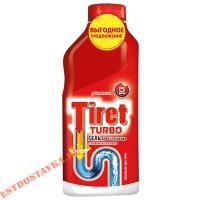 """Гель """"Tiret"""" Turbo для удаления засоров в трубах 500мл"""