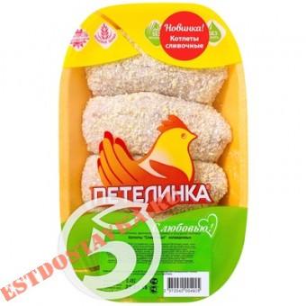 """Купить Котлеты """"Петелинка"""" Сливочные 500г"""