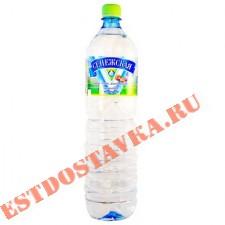 """Вода """"Сенежская"""" питьевая минеральная негазированная 1.5л"""