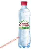 """Вода """"Святой Источник"""" минеральная, газированная 0.5л"""