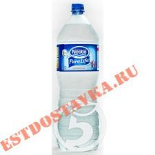 """Вода """"Nestle"""" Pure Life артезианская питьевая негазированная 2л"""