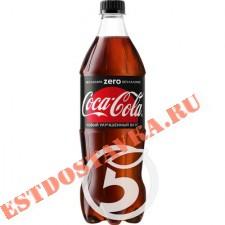 """Напиток """"Coca-Cola"""" Зеро сильногазированный 0,9л"""