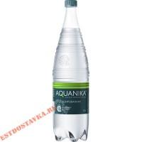 """Вода """"Aquanika"""" питьевая природная столовая газированная 1,5л"""