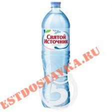 """Вода """"Святой Источник"""" питьевая негазированная 1.5л"""