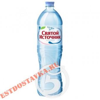 """Купить Вода """"Святой Источник"""" питьевая негазированная 1.5л"""