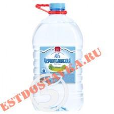 """Вода """"Черноголовка"""" питьевая природная 5л"""