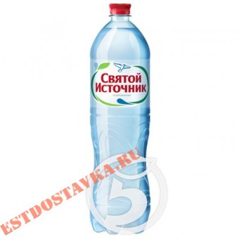 """Купить Вода """"Святой Источник"""" природная питьевая газированная 1.5л"""