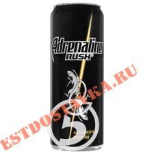"""Напиток """"Adrenalin""""e Rush энергетический 0.5л"""