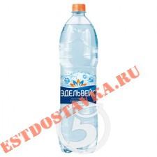 """Вода """"Эдельвейс"""" минеральная лечебно-столовая газированная 1.5л"""