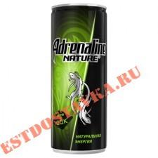 """Напиток """"Adrenalin""""e Nature энергетический яблоко/карамболь 0,25л"""
