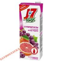 """Нектар """"Тонус"""" экстракт ягод годжи, грейпфрут, виноград, с мякотью, для детей 1,45л"""