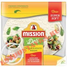 """Лепешки """"Mission"""" Тортильи пшеничные со злаками 250г"""