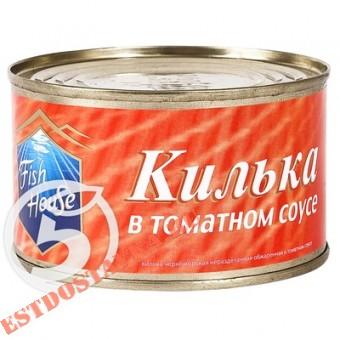 """Купить Килька """"Fish House"""" в томатном соусе ж/б 240г"""