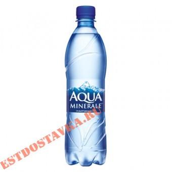 """Купить Вода """"Aqua Minerale"""" питьевая газированная 0,6л"""