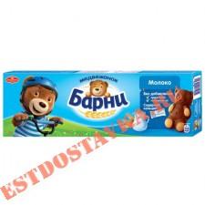"""Пирожное """"Медвежонок Барни"""" бисквитное с молочной начинкой 150г"""