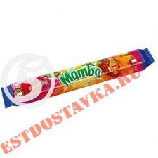 """Конфеты """"Mamba"""" жевательные со вкусом апельсина, вишни, малины и клубники 79,5г"""