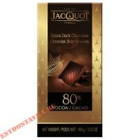 """Шоколад """"Jacquot"""" горький 80% какао 100г"""