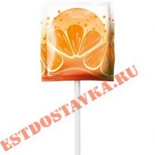 Карамель Sweet Bar на палочке Сочный микс вкусов: яблоко, клубника, апельсин, арбуз 15г