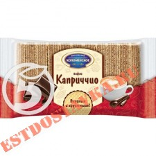 """Вафли """"Коломенское"""" Каприччио с шоколадной начинкой 220г"""