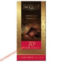 """Шоколад """"Jacquot"""" горький 70% какао 100г"""