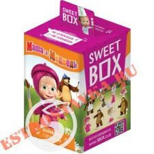 """Мармелад """"Sweet Box"""" жевательный Маша и медведь с натуральным соком+подарок 10г"""