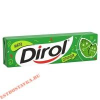 "Жевательная резинка ""Dirol"" Мята без сахара 13,6г"
