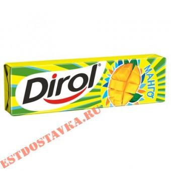 """Купить Жевательная резинка """"Dirol"""" Манго без сахара 13,6г"""