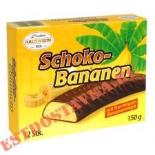Суфле Hauswirth Банановое в темном шоколаде 150г