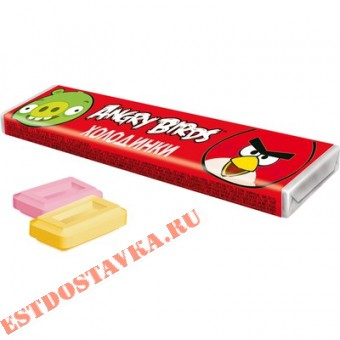 """Купить Драже """"Angry Birds"""" Холодинки со вкусом фруктов 11,5г"""