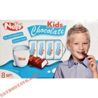 """Шоколад """"Nelly"""" молочный с молочной начинкой 88г"""