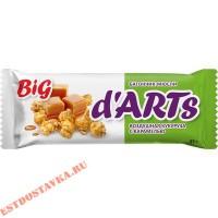 """Батончик-мюсли """"Леовит"""" Darts Воздушная кукуруза с карамелью 45г"""