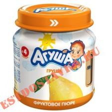 "Пюре ""Агуша"" Груша фруктовое 0% 115г"