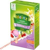 """Каша """"Heinz"""" Лакомая многозерновая яблоко и вишня 200г"""