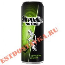 """Напиток энергетический """"Adrenalin""""e Nature 0,5л"""